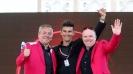 Giro d'Italia 2013; con Paolo Mei ed Anthony McCrossan