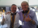Tour de France 2011 (Pinerolo): Con lo storico speaker Daniel Mangeas